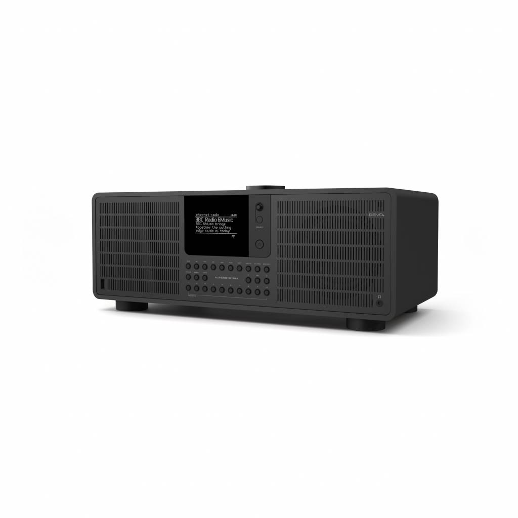 Revo Audio SuperSystem Stereo internetradio met Bluetooth, Spotify, USB en DAB+