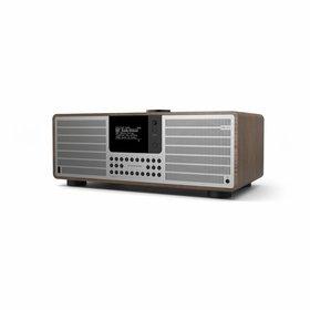 Revo Audio SuperSystem - Internetradio met Bluetooth, Spotify, USB en DAB+ - Walnoot/Zilver