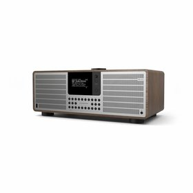 Revo SuperSystem - Internetradio met Bluetooth - Walnoot/Zilver
