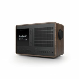 Revo Audio SuperConnect - DAB+ - internet radio en Spotify - Walnoot/Zwart