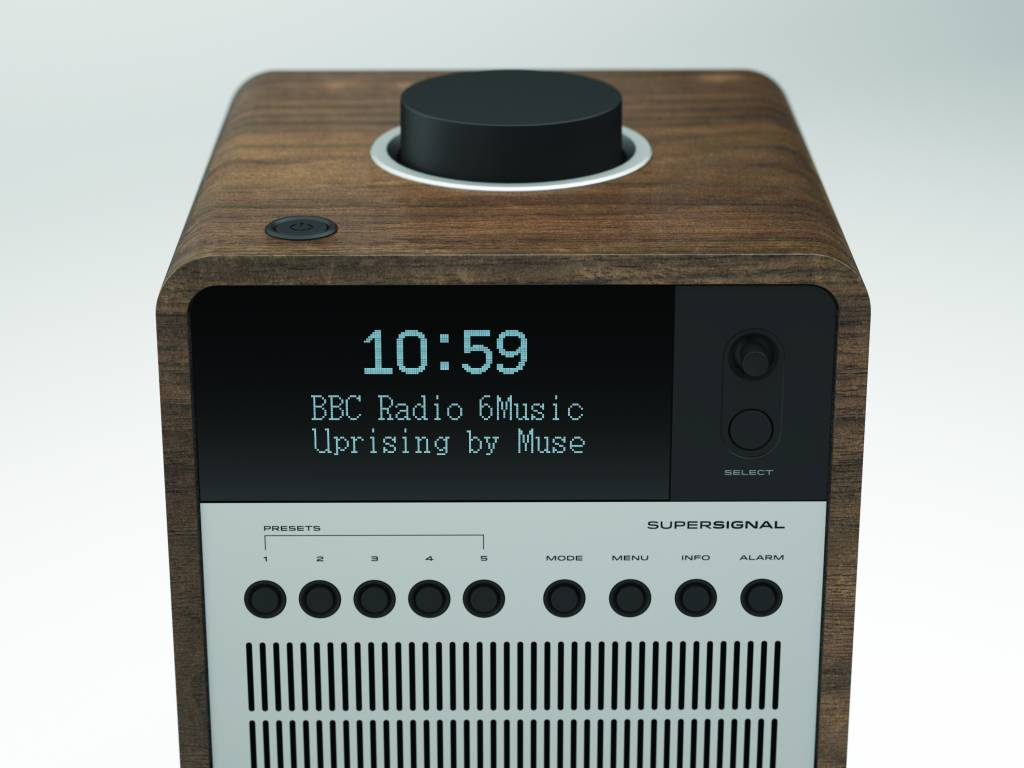Revo Revo SuperSignal - radio met FM, DAB+ en aptX Bluetooth
