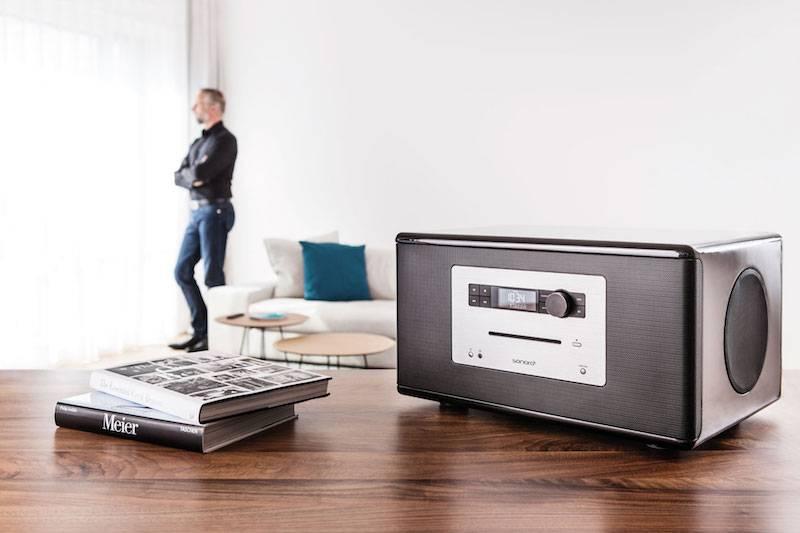 DAB Radio met CD speler kopen - Sonoro Stereo Radio