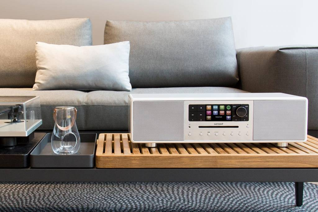 Sonoro Sonoro MEISTERSTÜCK Wit - Smart Radio | All-in-one muzieksysteem