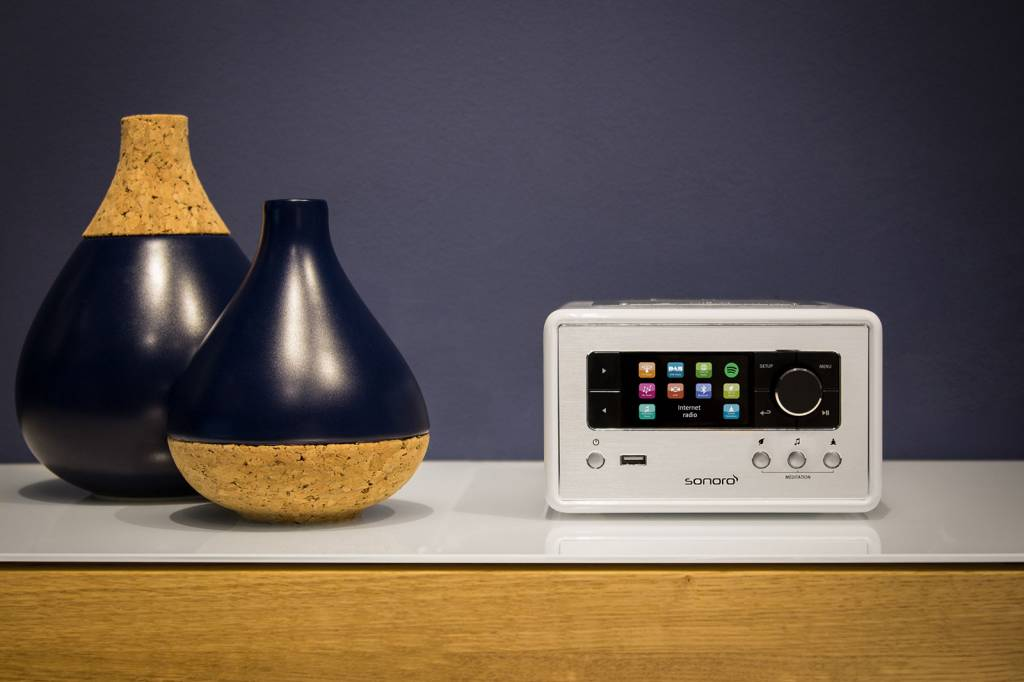Sonoro Sonoro RELAX - Wit | Smart Radio - Internetradio - FM / DAB + radio en Bluetooth