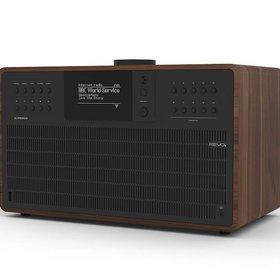 Revo Audio SuperCD - CD-speler - Dab Radio - Internetradio - Bluetooth AptX  - Walnoot/Zwart