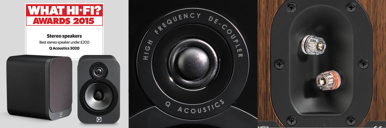 Q Acoustics 3020 - Hifi Luidsprekers