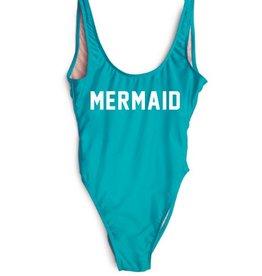 Blue mermaid swimsuit