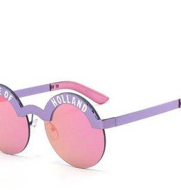 Sunglass girl Holland purple