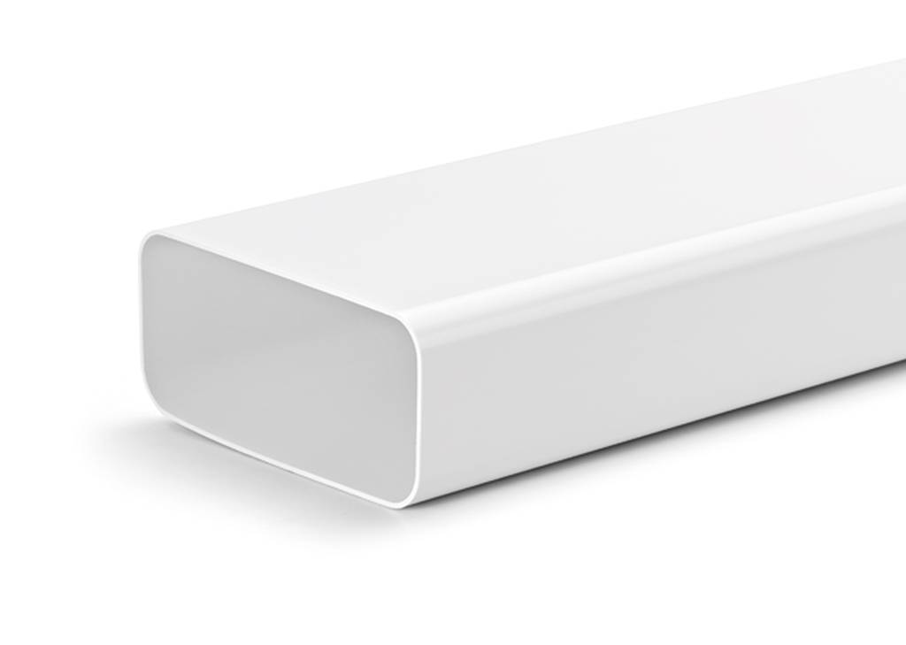 Platte Afvoerbuis Toilet : Platte dampkapbuis Ø125mm hoog rendement luchtafvoerexpert
