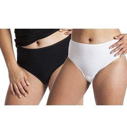 Underwunder Dames Tailleslip, wit en/of zwart (setprijs)