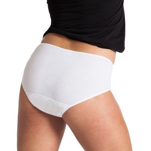 Underwunder Dames Tailleslip met kant, wit