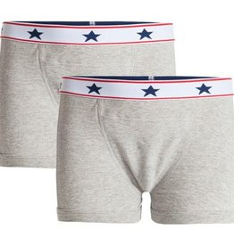 Underwunder Boys boxer grey (set of 2)