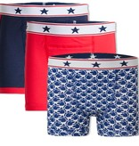 Underwunder Boys boxer blue/red/ monkey