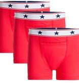 Underwunder Boys boxer red (set of 3)