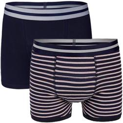 Underwunder Men's Boxer blue/ stripes (set of 2)