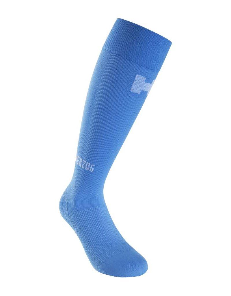 Herzog compressiekousen Herzog Compressiekousen  blauw