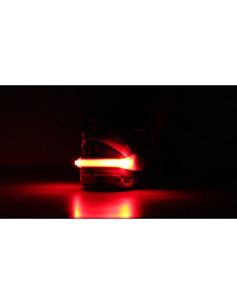 Nathan hardloop accessoires Nathan Lightspur Black - ledlamp