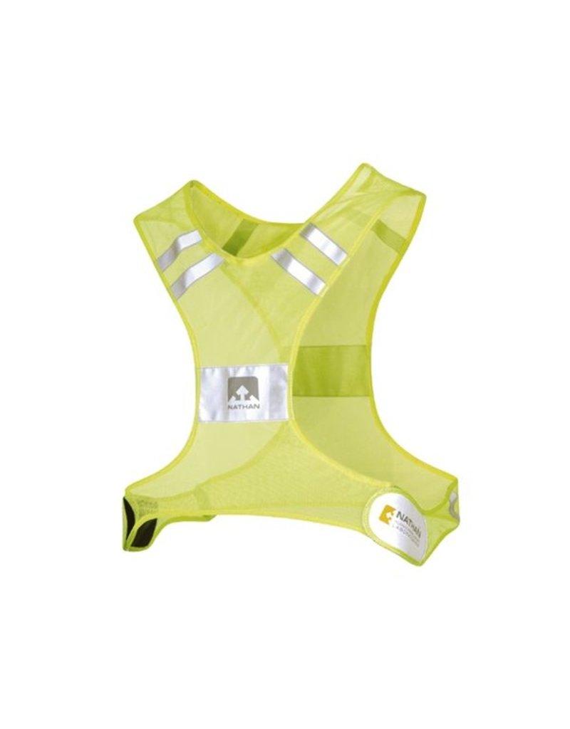 Nathan hardloop accessoires Streak Hi-Viz Yellow - reflectiehesje