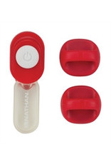 Nathan hardloop accessoires Nathan ClipLight Tango Red
