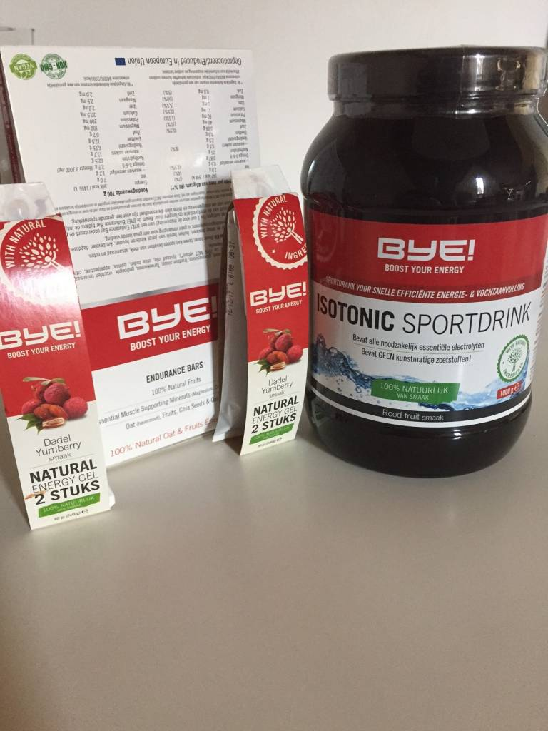 BYE sportvoeding: product review