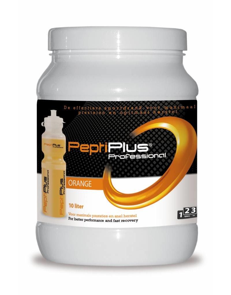 Qwin sportdrank en sportvoeding Peptiplus Orange (760gram)