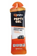 Qwin sportdrank en sportvoeding QWIN Pepti gel - orange pineapple
