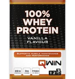 Qwin sportdrank en sportvoeding QWIN 100% Whey Protein - Vanilla (sachet 28gr)