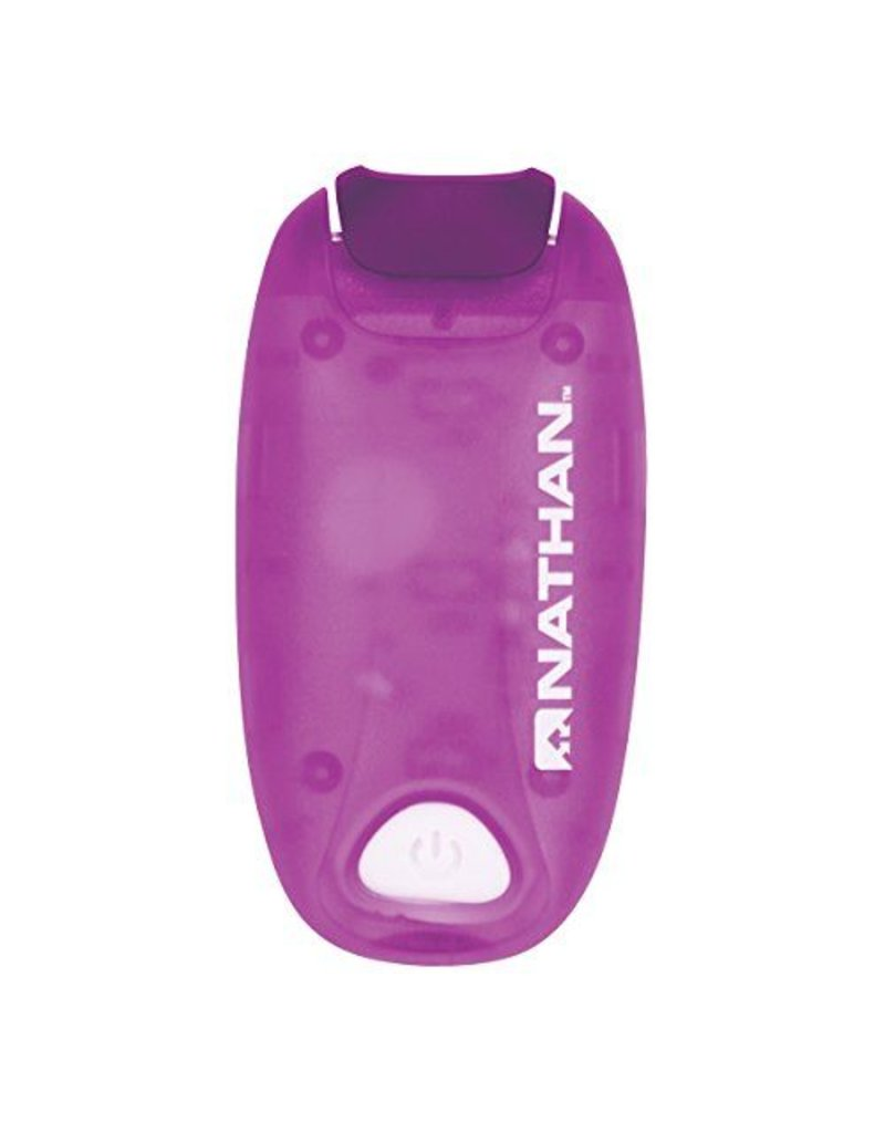 Nathan hardloop accessoires Nathan Strobe Light - Imperial Purple