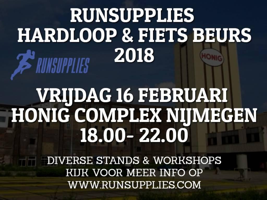 Runsupplies Hardloopbeurs Nijmegen 16 februari 2018