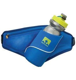 Nathan hardloop accessoires Nathan Triangle drinkgordel 650 ml - blauw