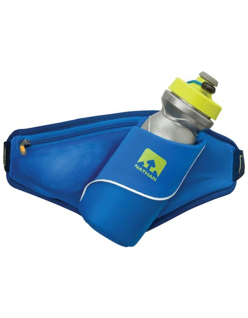 Nathan hardloop accessoires Nathan Triangle drinkgordel 650 ml - blauw