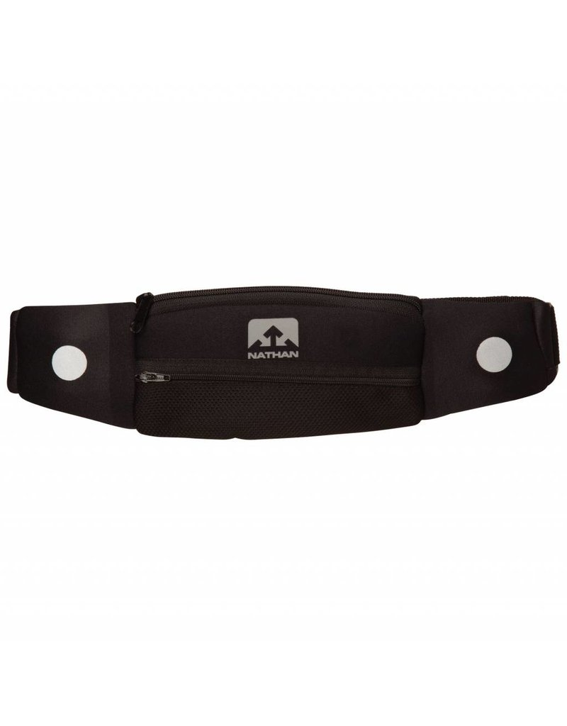 Nathan hardloop accessoires Nathan 5k runningbelt - zwart