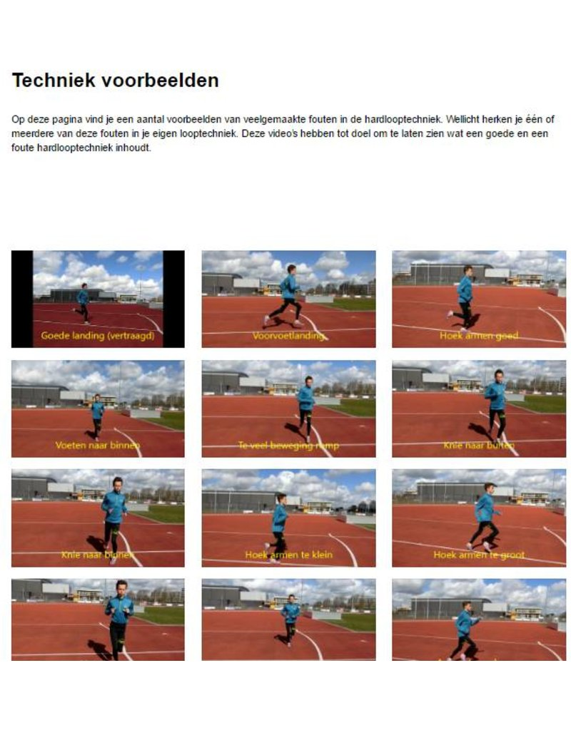 Geart Jorritsma E - book Sneller en blessurevrij hardlopen