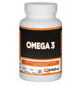 Qwin sportdrank en sportvoeding Qwin Omega 3