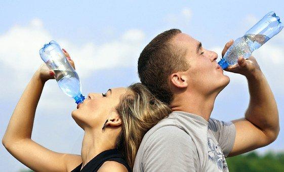 Drinken tijdens het hardlopen