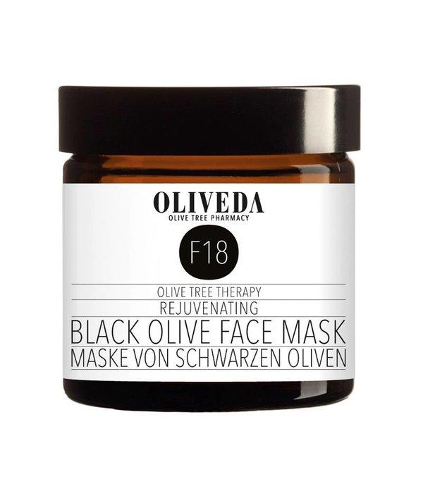 F18 Rejuvenating Black Olive Face Mask 60ml