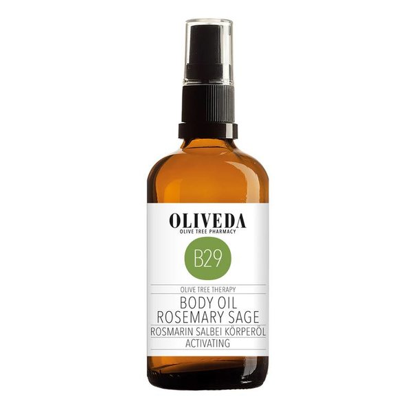 B29 Body Oil Rosmary Sage Activating 100ml