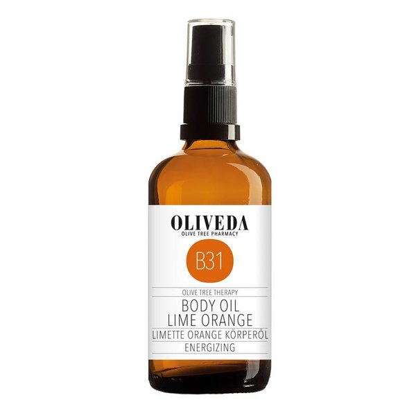 B31 Body Oil Lime Orange Energizing 100ml