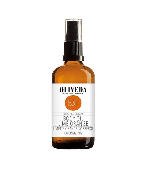 B31 Body Oil Lime Orange Energizing 100ml