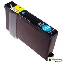 Inktcartridge voor de Lexmark nr.100 XL cyan (huismerk)