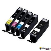 AANBIEDING Inktcartridges Canon PGI-550-551 set 4 halen = 3 betalen (huismerk) met chip GRATIS VERZENDEN