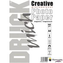 Druckmich magnetisch foto papier, Glanzend A4 formaat
