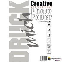 Druckmich T-shirt transfer papier voor lichte stoffen, A4 formaat