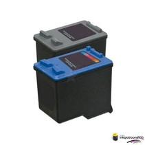 Inktcartridge HP nr.21 + 22 XL set (huismerk)