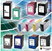 Inktcartridges set voor HP printers vanaf 29,95 (huismerk inktpatronen)