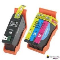 Inktcartridges Dell 21 zwart + kleur set (huismerk)