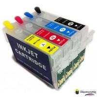 Huismerk inktpatroonshop Epson T-1281 serie refill cartridges