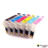 Huismerk inktpatroonshop Epson T-801 refill cartridges