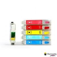 Huismerk inktpatroonshop Epson T-961 serie refill cartridges