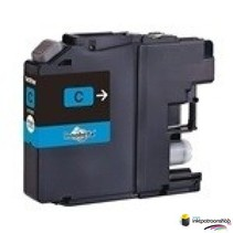 Inktcartridge Brother LC-123 cyan (huismerk)